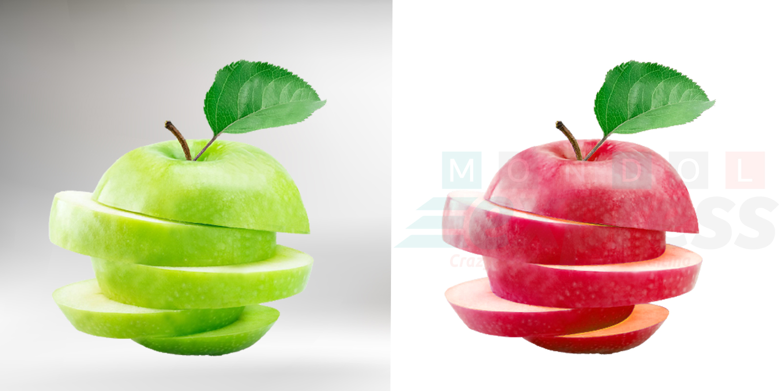 Color Correction food Apple